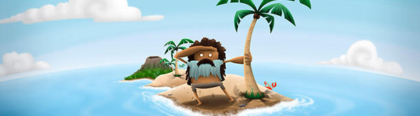 The contemporary Robinson Crusoe!