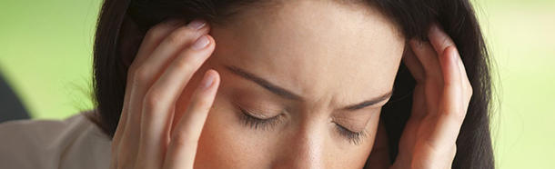 What is 'aura' before a migraine?