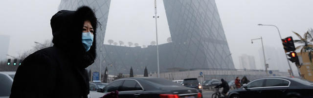 Breathing air in Beijing is like smoking
