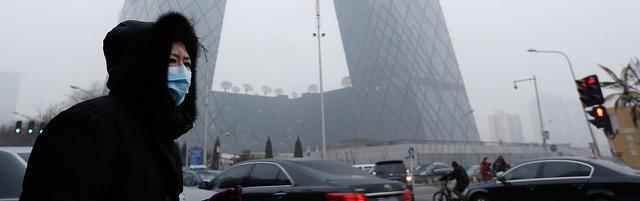 Breathing air in Beijing is like smoking