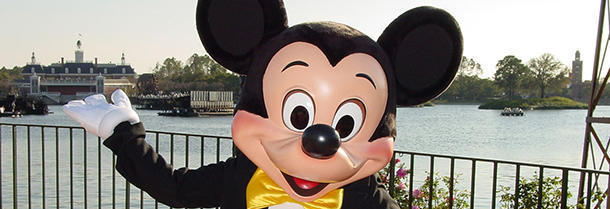 How do the Italians call Mickey Mouse?
