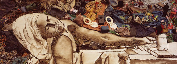 Artist photographed garbage pickers