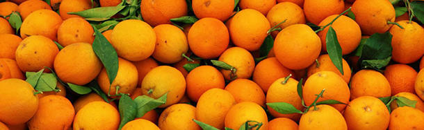 What's the origin of the word 'orange'?