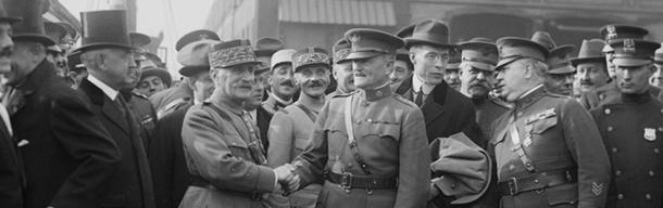 What did Marshal Ferdinand Foch say before the WWII breaks out?