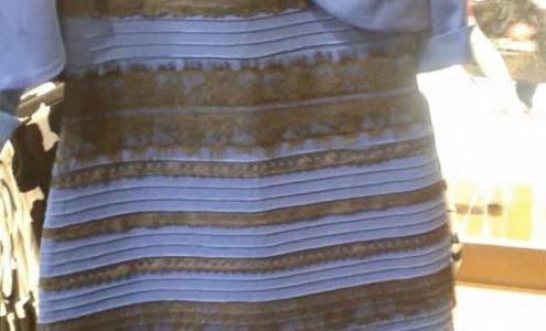 What is the actual color of #thedress? [video]