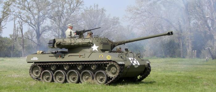 The advantage of the most effective tank destroyer during World War II!