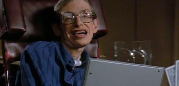 Which 2 dreams of Stephen Hawking did Star Trek make true?