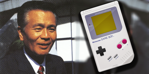 What was the first job of the creator of Nintendo Game Boy in the company?