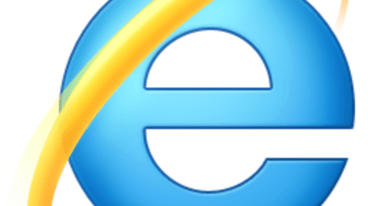 How was Internet Explorer introduced to websites when it came out?