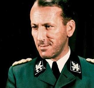 How was the Nazi War Criminal Ernst Kaltbrunner caught?