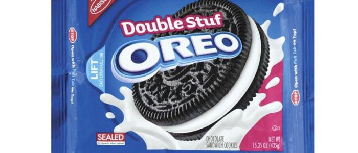 How much cream double stuffed oreos actually have?