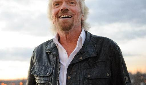 What was Richard Branson's incredible prank for April Fools Day in 1989?