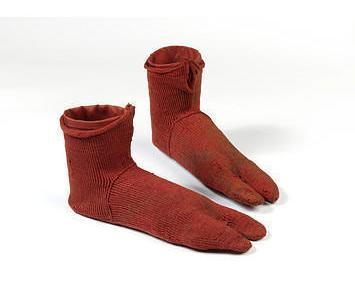 One shocking fact about the oldest known socks!