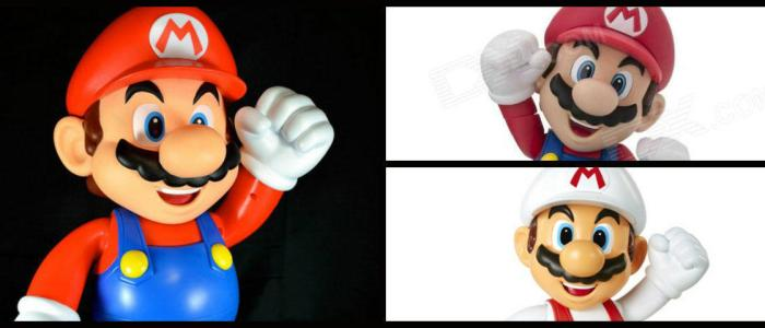 These are the best 3 Super Mario figures that you will ever find!