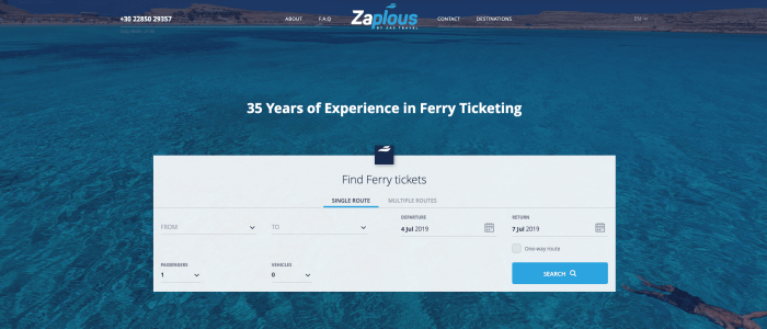 How to book cheap ferry tickets to Greece online?