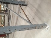 Bent racking frame