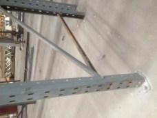 Bent racking frame