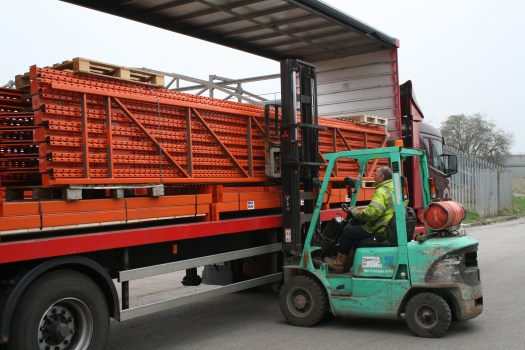 Pallet Racking Delivery