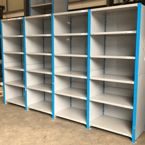 Used Dexion Impex Steel Shelving