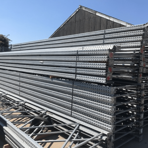 sell used pallet racking