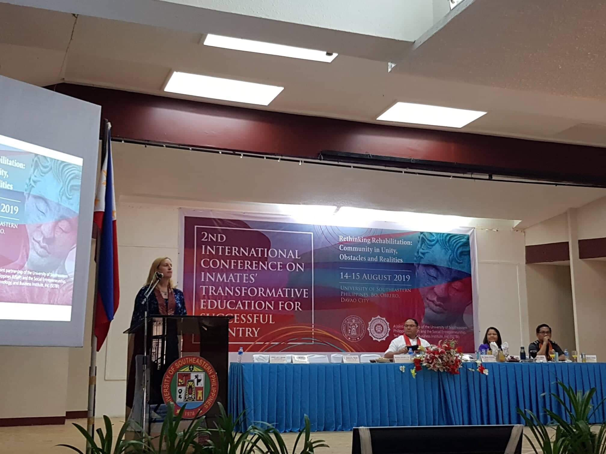 Usep Setbi Hold 2nd International Conference On Inmates