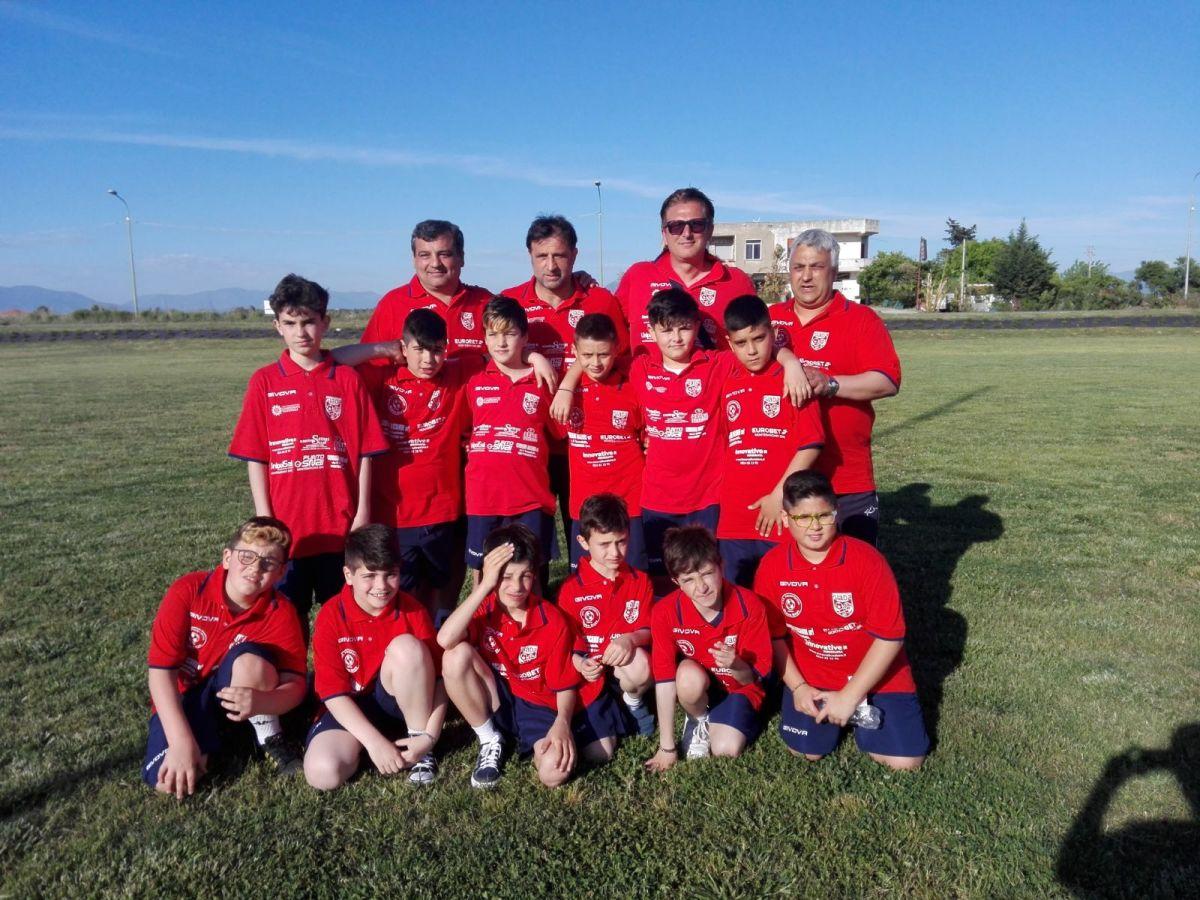 Montesarchio e Rotondi allo stadio Olimpico con la squadra Giada Club Green Boys