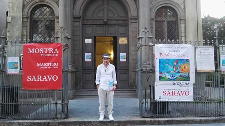 Durazzano, mostra di Saravo