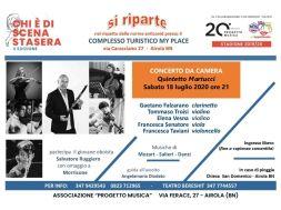 locandina Quintetto Martucci Chi è di scena stasera