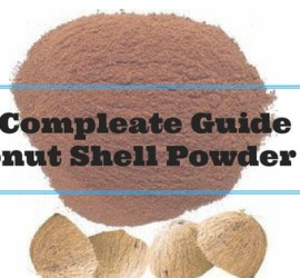 Coconut Shell Powder Uses