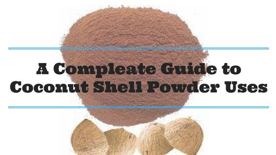 Coconut Shell Powder Uses