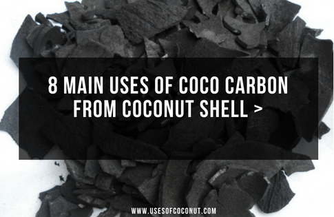 8 Main Uses of Coco Carbon from Coconut Shell