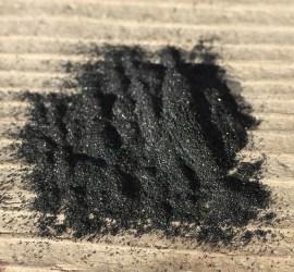 charcoal-powder
