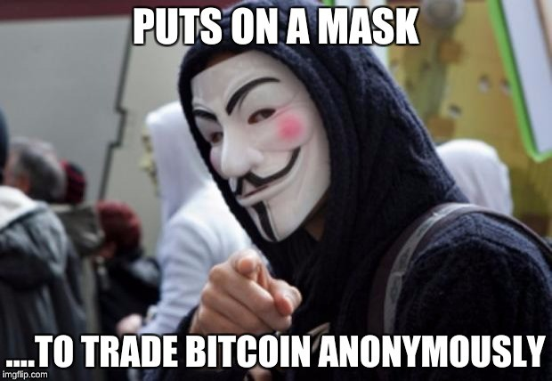 Anonymous trading on HitBTC is available