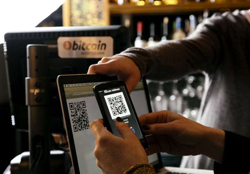 Did you know you can pay with bitcoins at bricks-and-mortar stores as well, pretty cool right?