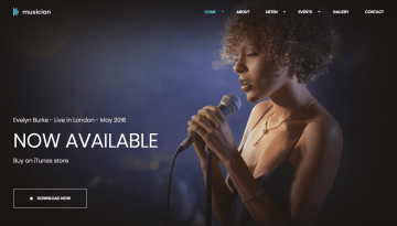 10 Best HTML5 Templates For Music Websites