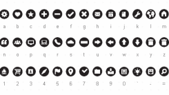 Free Download Foundation Icon Fonts by ZURB