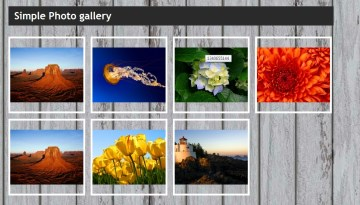 Simple Photo Gallery Script in PHP and jQuery