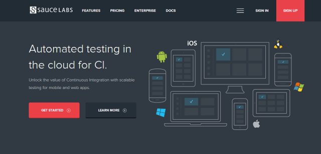 Saucelabs Cross-Browser Compatibility testing tool