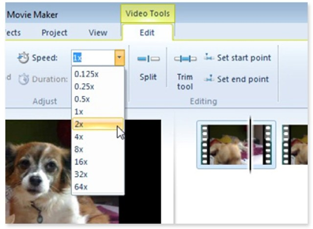 Windows Movie Maker video editing software for Windows