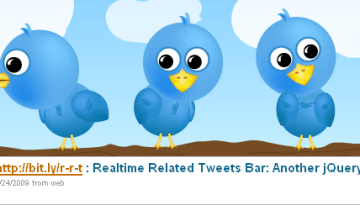 4 Nice jQuery Plugins For Twitter
