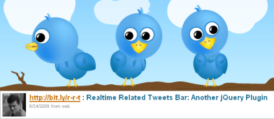 Related Related Tweets Bar