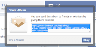 How Create Public Link of Facebook Albums to share With Friends