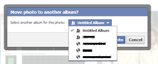 How to Move Photos From one Album to Other in Facebook