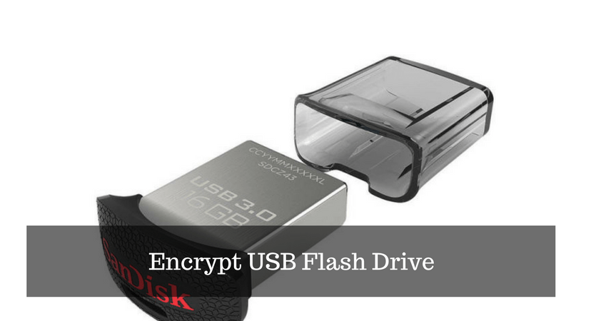 Encrypt USB Flash Drive