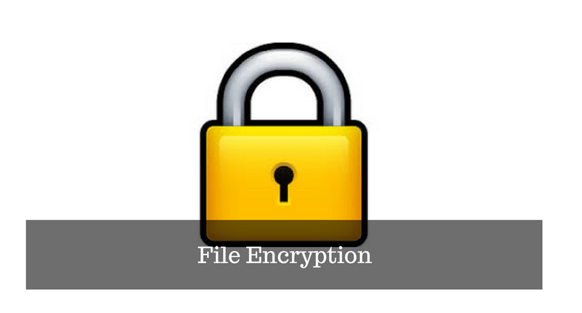 Encrypt your Important Files with File Encryption