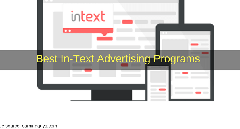 Best In-Text Advertising Programs