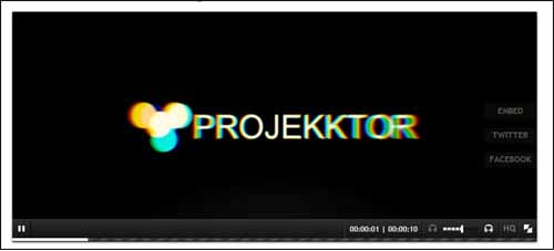 Projekktor Free HTML5 Video Player