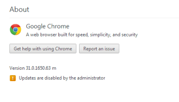 [Fix] Google chrome updates are disabled by the administrator