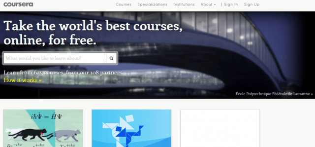 Coursera Search Engine