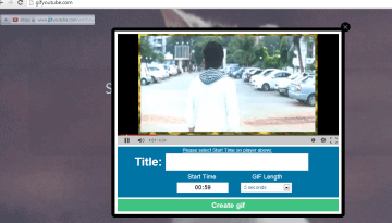 Create Animated GIFs from YouTube Videos With Gif YouTube